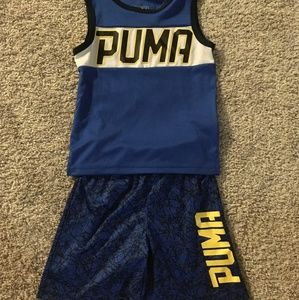 Toddler boys Puma outfit, 2T